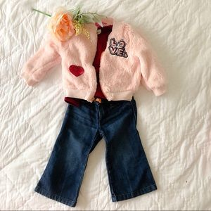 18-24 months Baby Girl clothing combines